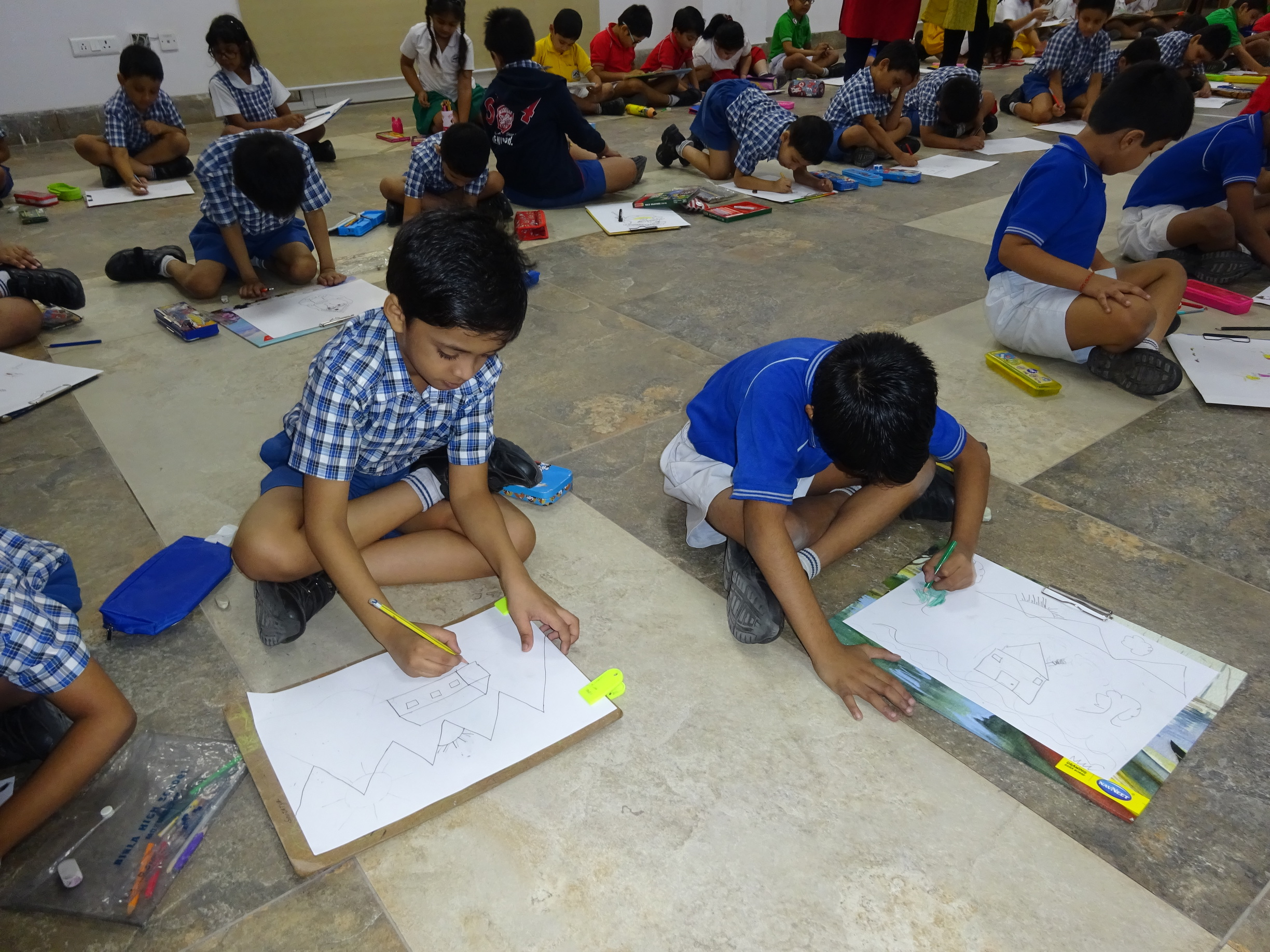 Inter-House Drawing Contest